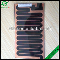 Carbon flexible heating film