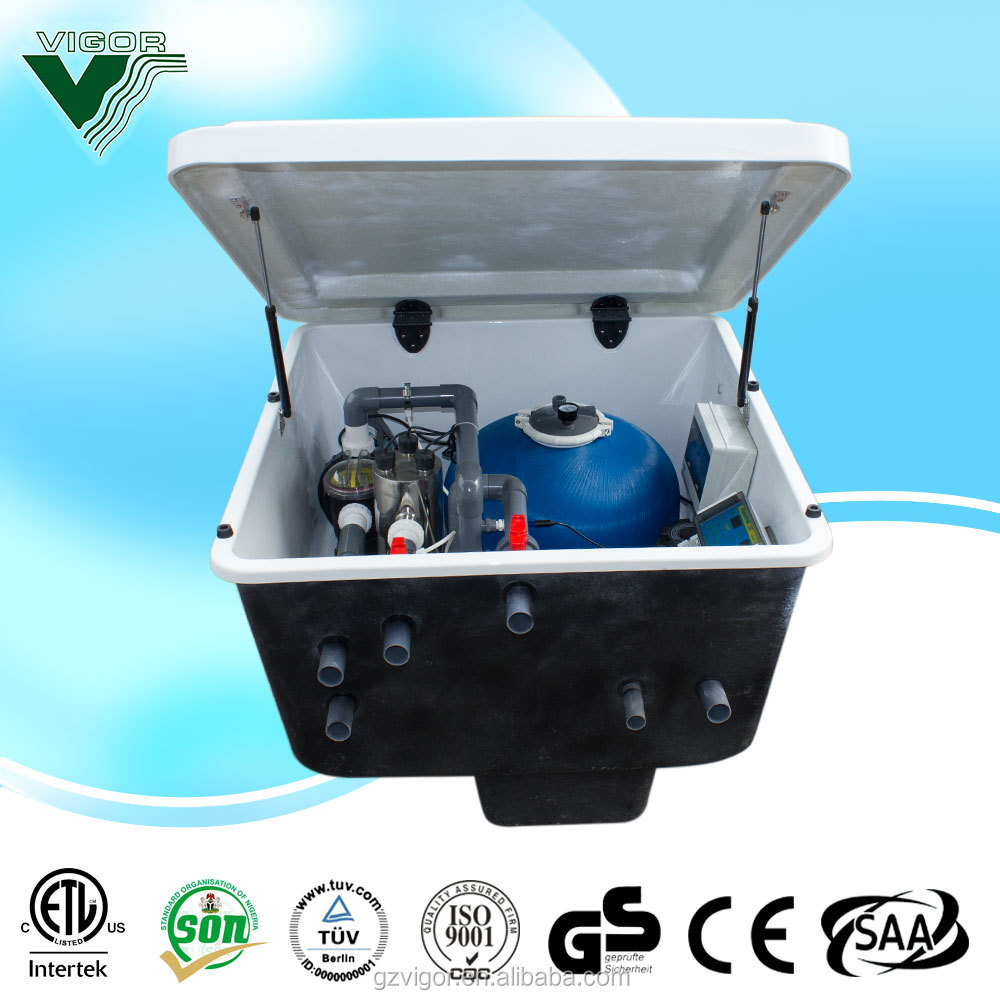 PIKESl Inground swiming pool equipment / swimming pool filtration system