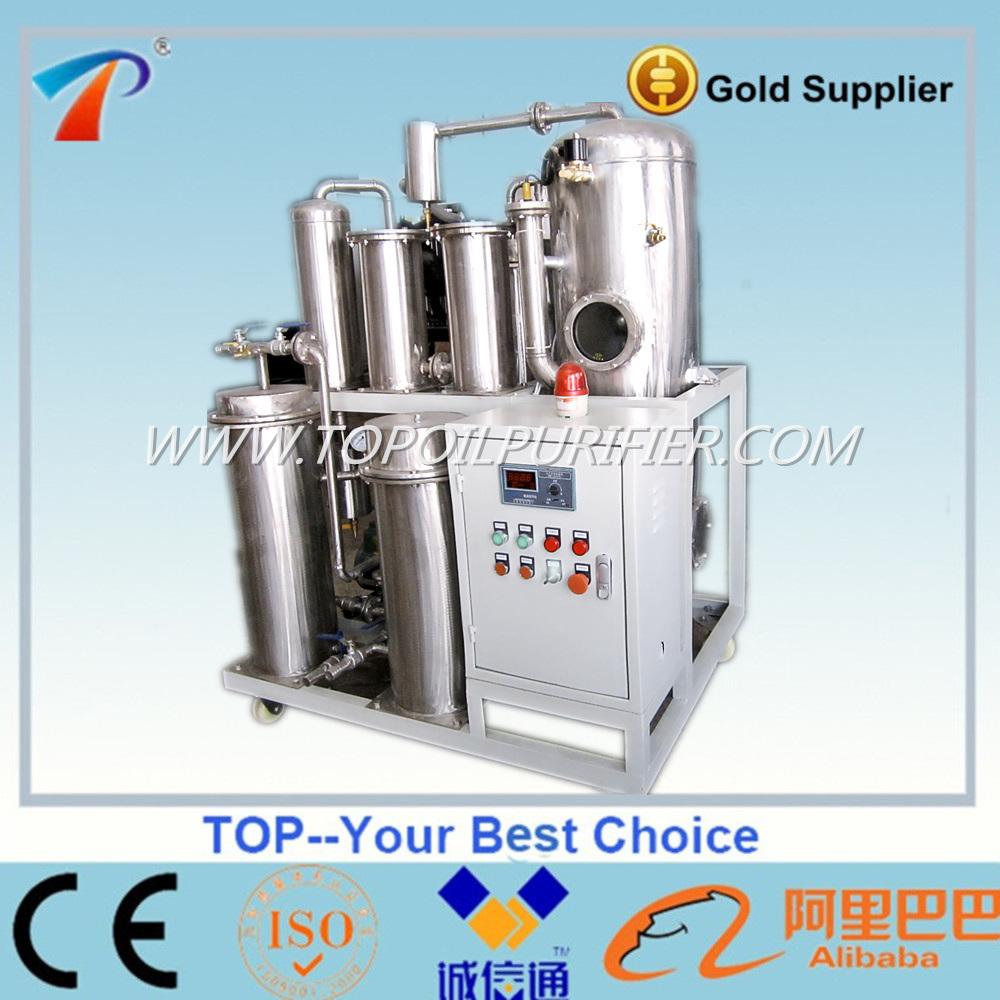 Vacuum hydraulic oil water separator lube oil regeneration for Water in motor oil