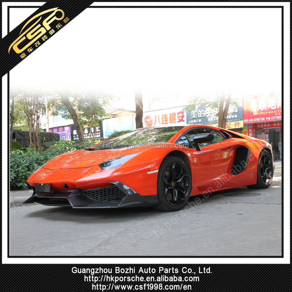 Lambo Aventador carbon fiber LP700-4 LP720-4 50TH Anniversary bumper Body Kit auto tuning parts