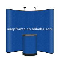 Best selling Fabric Pop up display.pop up stand.pop up display stand