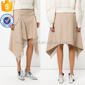 New Fashion Nude Asymmetric Mini Summer Skirt Apparel OEM Service Wholesaler China Alibaba