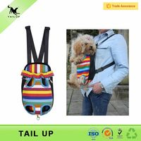 Dogs Application and Pet Travel & Outdoors Type Front Dog Backpack Carrier