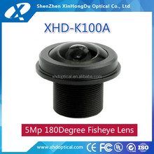 fixed 1/2.5 inch f2.0 1.56mm m12 fisheye lens for mini camera