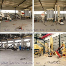 2.5-3 t/h animal feed mill mixer production line