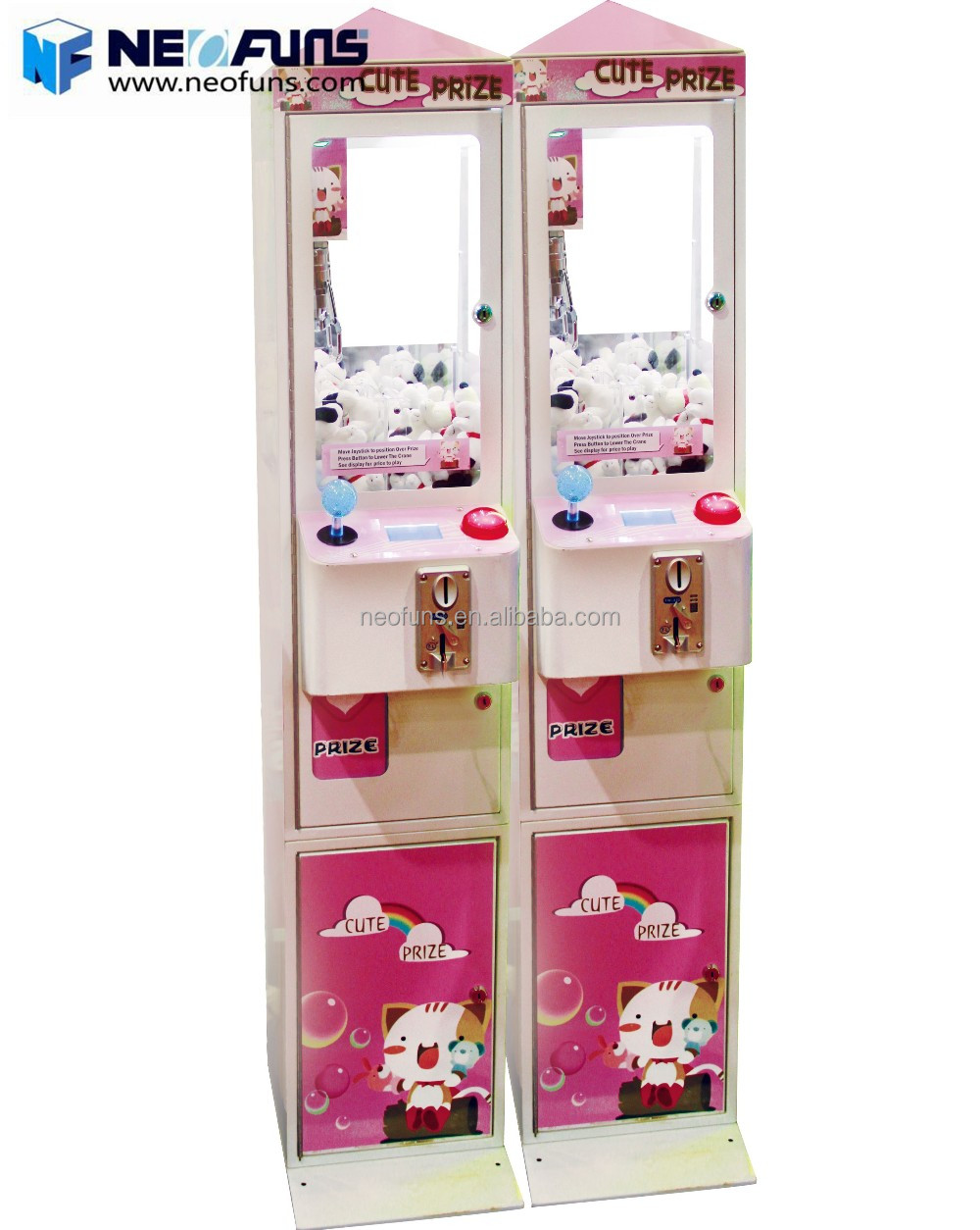Mini Doll Crane Claw Machine NF-P50A With Funny And Attractive Appearance Popular Among Children Teenagers And Adults
