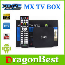Best Amlogic 8726 MX Dual Core M6 A9 1G / 8G WiFi Antenna 3D XBMC 1080P android tv box sata 8 core Chipped TV Box Android