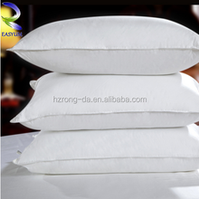 Luxury Marriott Hotel Top Quality 100% Cotton Goose Feather and Down Pillow, Comfort Anti Snore White Duck Down Pillow
