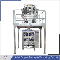 Automatic form fill seal VFFS packing machine for crisp