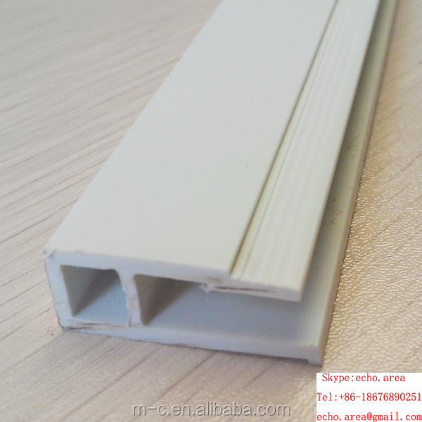 pvc keel / pvc profile for stretch ceiling film