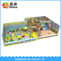 Customized Children Commercial Indoor Soft Play Equipment, Indoor Playland Equipment, Naughty Castle