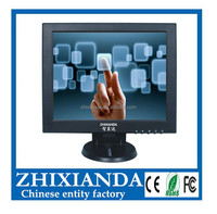 12 inch HD 1024x768 multifunction made in china make lcd touch monitor