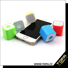 Mini portable outdoor waterproof speaker with bluetooth With Hanging Design