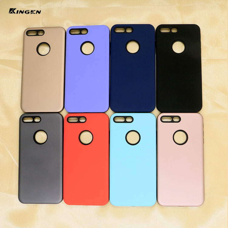 2017 New Special 2 in 1 Cell phone case protective Soft TPU +PC Mobile Phone cover for iphone