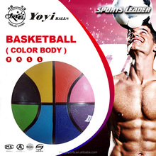 official size 7 and weight new fashion colorful basketball