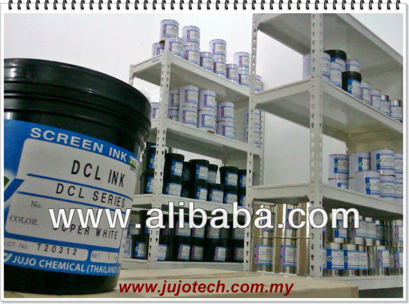 SCREEN PRINTING INK for flexible vinyl sticker, vinyl chloride, decorative steel sheet, flexible vinyl, etc..