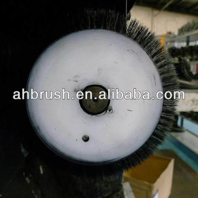 2014 new model nylon/horse hair shoe polishing brush