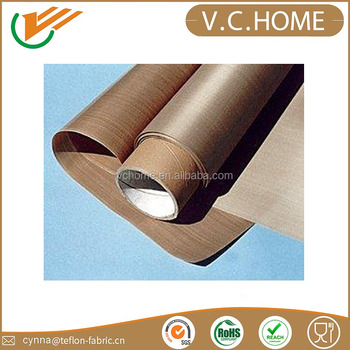 China 0.13mm good quality ptfe teflon coated fiberglass fabric and cloth for bag filter