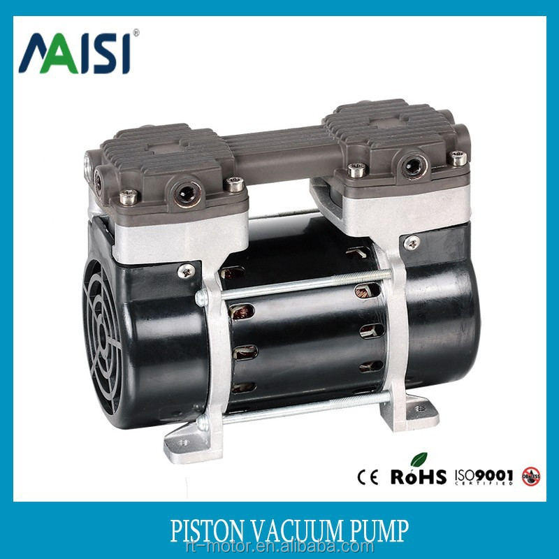 smallest micro mini air oilless electric piston vacuum pump