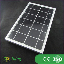 Factory Price 12 Volts 5 Watts Version Solar Panel