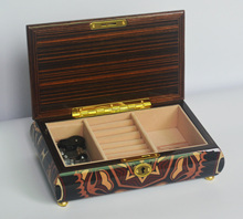 PM024B top quality luxury wood box jewelry wedding souvenirs music box