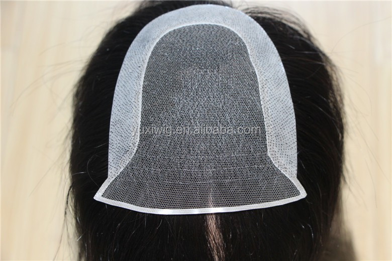 Virgin Human Hair Topper Wig For women