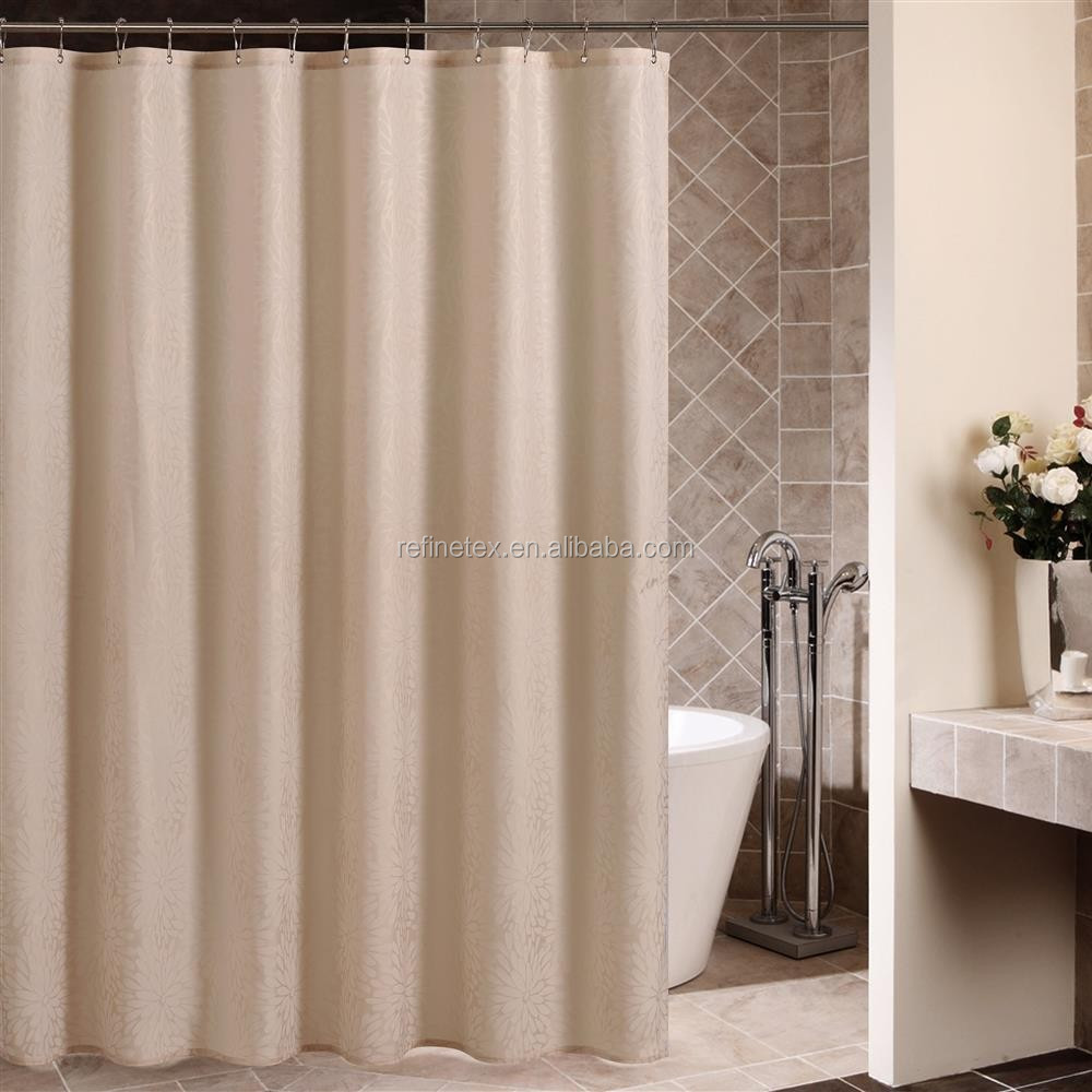 High Quality Hotel Used Polyester Bathroom Shower Curtain Buy High Quality Shower Curtain