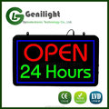 Open 24 Hours Windows LED Neon Sign For Fixed / Flashing model Animated Sign Business Motion Light Sign