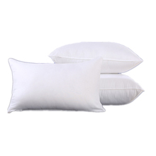 Solid Custom Soft Sleeping Duck Down Feather Hotel Polyester Pillow Inner