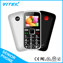 2017 VITEK 1.8inch Alibaba Wholesale New Products Bulk OEM Cheap Stylish Senior Mobile Phone,SOS Button Elderly Cell Phone