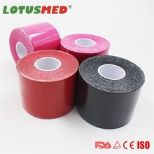 CE, FDA China Supplier 5CMx5M Medical/ Vet/ wound High Quality Kinesiology Taping