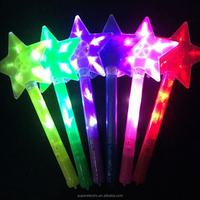 High quality light up cheap wholesale star custom led light stick