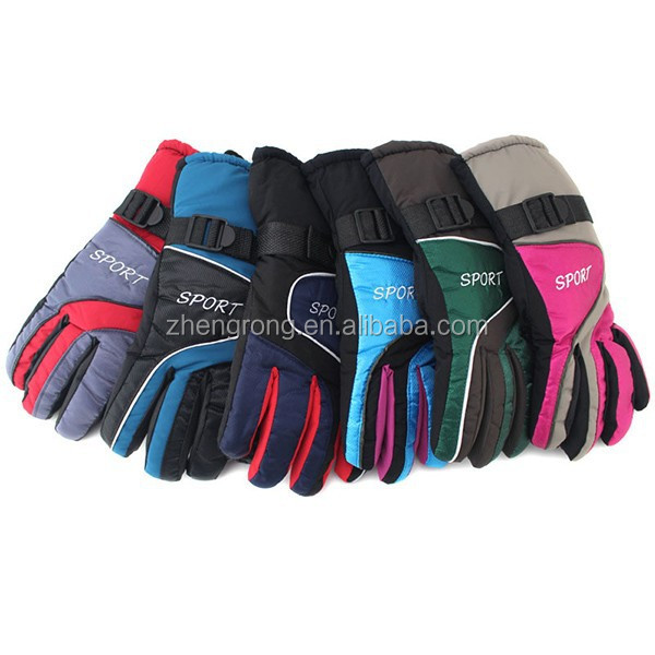 Promotional Custom Winter Heated Winter Warm Kids Ski Gloves