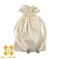 Hot selling fashion design elegant custom made wedding gift bag wholesale
