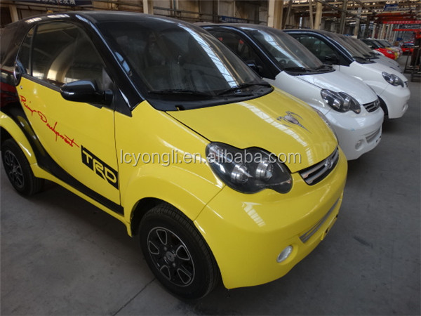 2 seat small solar electric car