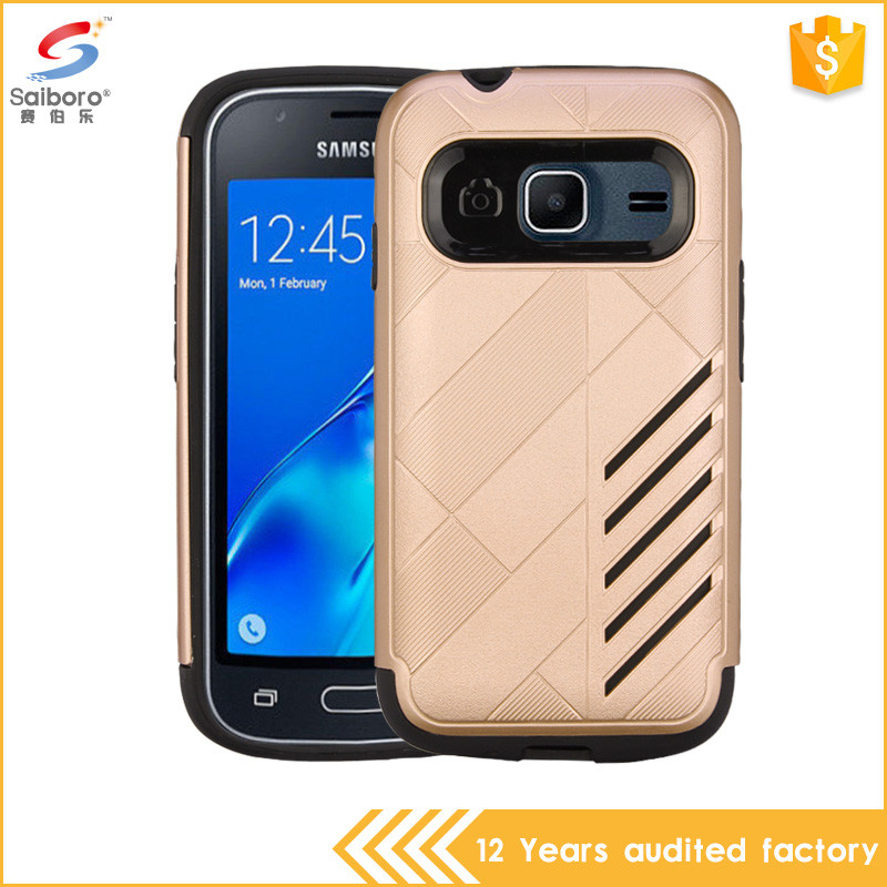 New arrival tpu pc phone case for samsung galaxy j1 mini, 2 in 1 for samsung galaxy j1 mini case