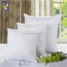 Sticky washed goose feather throw bed cushion with high quality