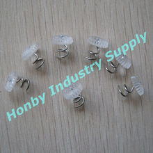Fresh Stock 13mm Clear Head Spiral Twist Pin Furniture Tacks For Protect