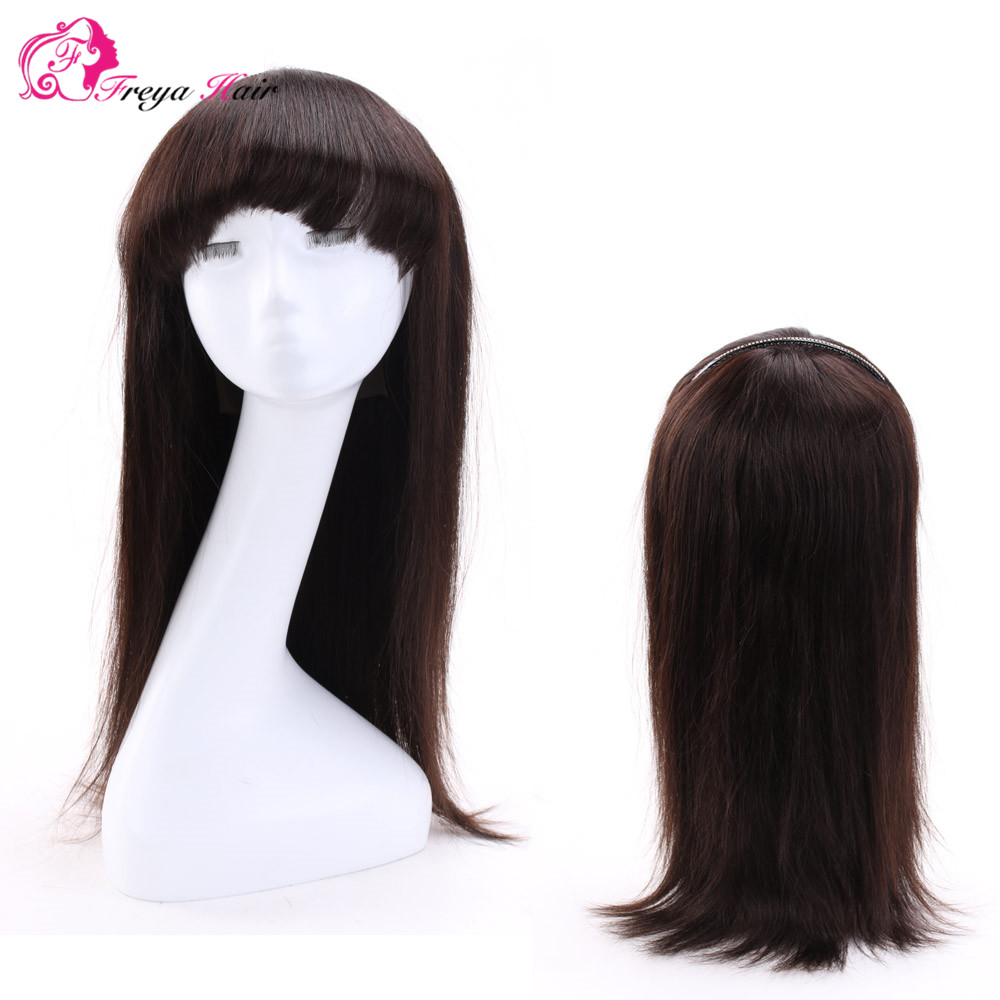 New product beautiful hair wig virgin brazilian glueless human hair lace front wigs with bangs