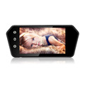 7 Inch Mirror MP5 Touch Screen with Bluetooth Support Rear View Camera USB TF Card