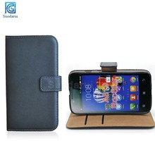 Factory price Mix colors Book Wallet Stand leather flip case For Lenovo RocStar A319