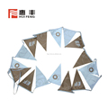 Custom fabric bunting for party decoration