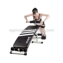 Delicate T-shape frame assemble simply new fitness machine sit up bench training exercise