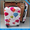 new designer lightweight hard cover 20''&24'' girls travel luggage bags