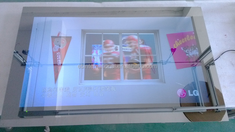 frameless Touch Screen Mirror TV, Best price Mirror TV interactive panel EB GLASS BRAND