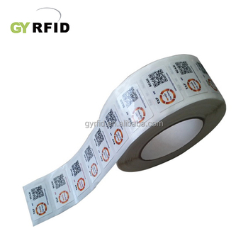 Long Read Range Customized 125khz Rfid Label/Uhf Rfid Label