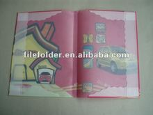 2012 Colorful PVC Book Coverck