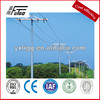 galvanized steel electrical pole,power transmission line pole