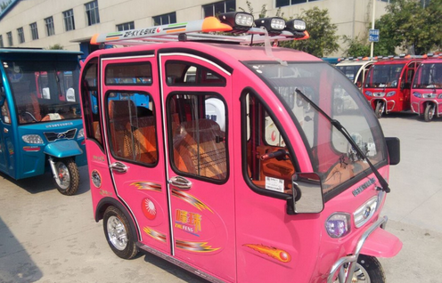 China manufacturer made 3 wheeler solar electric tricycle-DM5