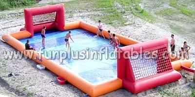 Outdoor Inflatable Football/Soccer Field, Inflatable Football Pitch, Inflatable Football Arena For Sale F6041